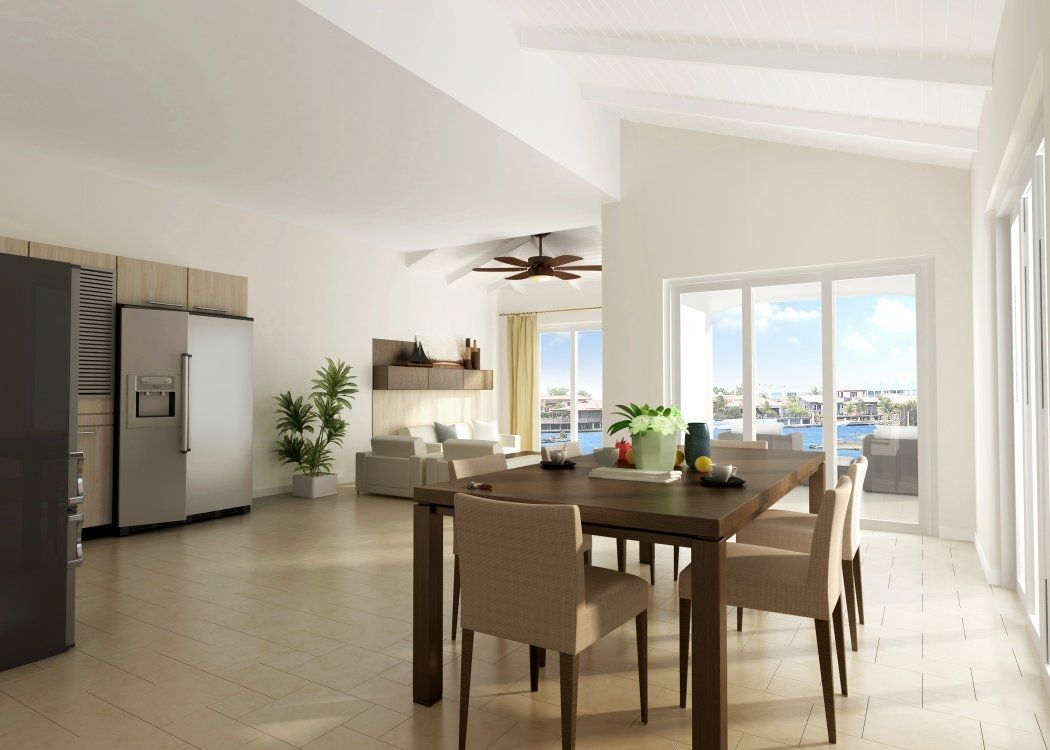Woonkamer inrichten idee scandinavische woonkamer met for Huis interieur tips